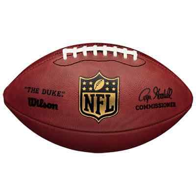 Wilson NFL Authentic American Football Game Ball 'The Duke'