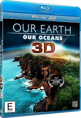 Our Earth, Our Oceans 3D  - New Blu-Ray