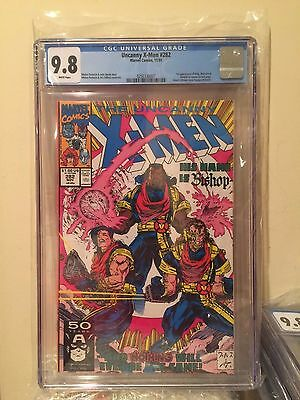 Uncanny X-Men #282 - CGC 9.8 - 1st Bishop Days Of Future Past - White Pages