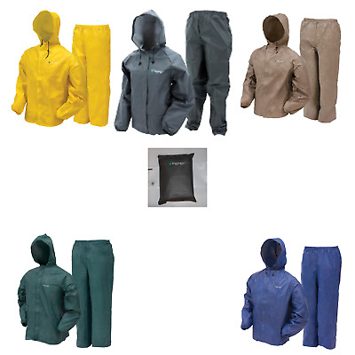Frogg Toggs UL12104 Ultra Lite Rain Suit New CHOOSE COLOR & SIZE FREE STUFF SACK