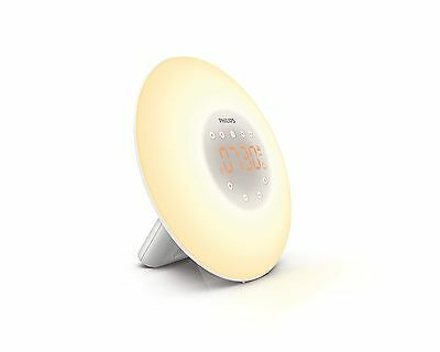 Philips HF3505/60 Wake-Up Light with Radio White