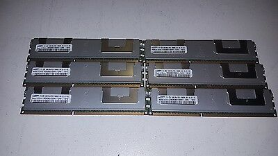 24GB 6x 4GB DDR3 PC3-10600R Server Memory Samsung Hynix