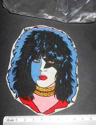 VINTAGE PAUL STANLEY THE STARCHILD KISS ROCK BAND PATCH MEX 1980s