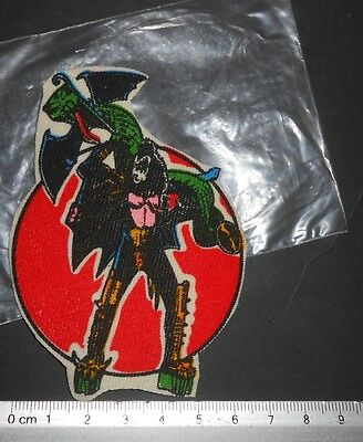 VINTAGE GENE SIMMONS THE DEMOND KISS ROCK BAND PATCH MEX 1980s