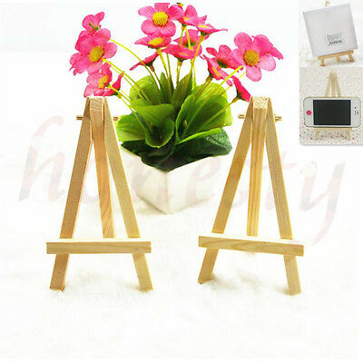Mini Wooden Cell Phone Stand Phone Easel Artist Art Painting Holder Xmas Gift