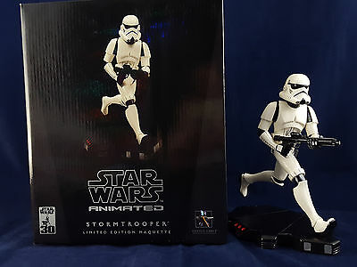 Star Wars Gentle Giant Animated Stormtrooper Maquette 939/4000 Empire Rogue One