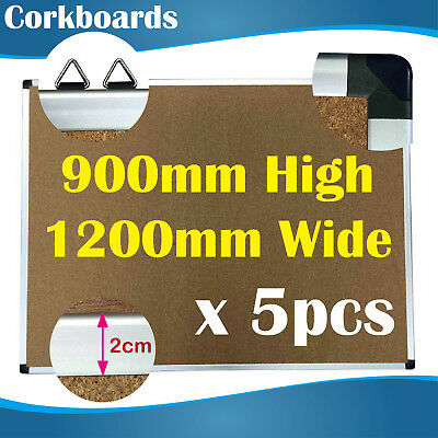5PCS Premium Corkboards/corkboard/pin board/pinboards/cork board 90x120 CM