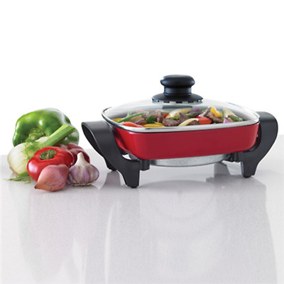 Maxim Electric Fry Pan Mini Red 20Cm - MMFP20