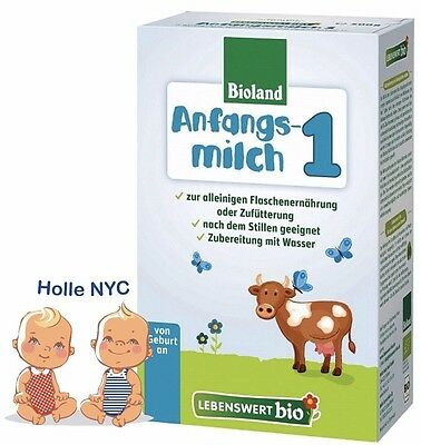 Holle Lebenswert Stage 1 Organic Baby Formula, 0-6 months, 500g 08/2020