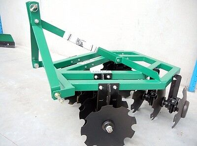 HAYES 5FT 3PL TRACTOR DISC HARROWS - OFFSET (3 Point Linkage)