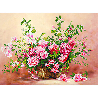 5D DIY Diamond Painting Floral Pattern Embroidery Cross Stitch Craft Home Decor