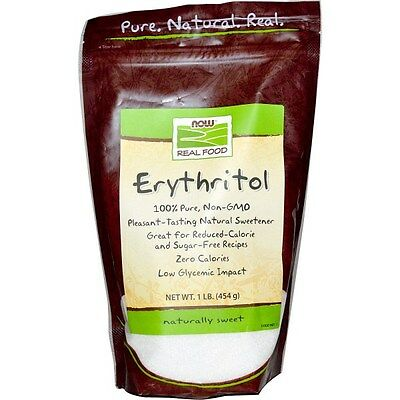 Now Foods, Real Food, Erythritol, 1 lb (454 g)