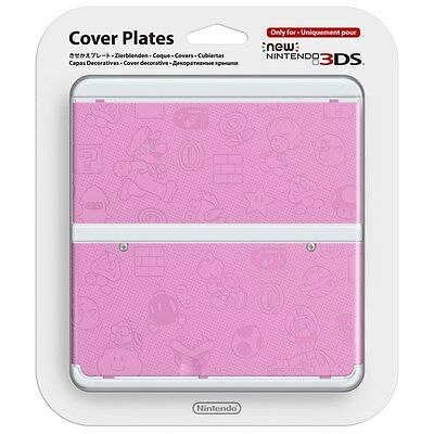 New Nintendo 3DS Cover Plates No.011 - Pink Mario Bros - Kisekae Face Plate