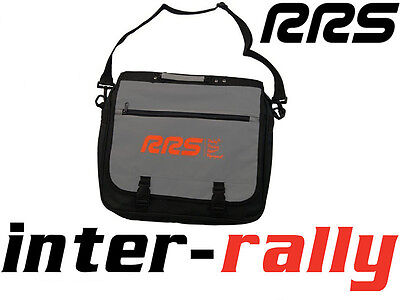 RRS co-driver grey bag rally race drift sport documents
