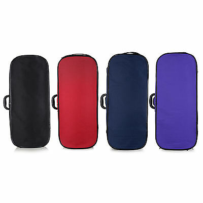 Violin Case - Muzip Full Size 4/4 Double Violin Case Hard Shell 4 Colour Options