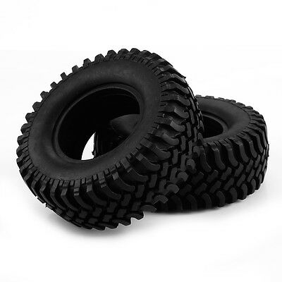1/10 Off Road Crawler Tires 1.9 Inch Wheels 100mm Dia For HPI Redcat