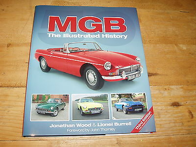 Sale Book - MGB-The Illustrated History. 3rd Ed. Was £30.00