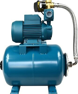 "IBO1""WZI250 BOOSTER WATER PUMP portable,small,electric,house+24L pressure VESSEL"