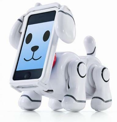 Bandai SmartPet Robot Dog Smart Pet smartphone for iPhone iPod Version White new