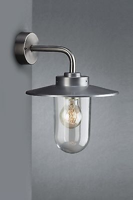 Philips Vancouver Outdoor Stainless Steel Down Lantern Wall Light 170004710