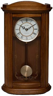 Fox And Simpson Mayfair Oak Solid Wood Westminster Chime Pendulum Wall Clock