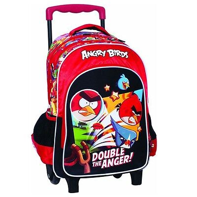 Sac à roulettes Angry Birds Fight Trolley 43 CM - Cartable