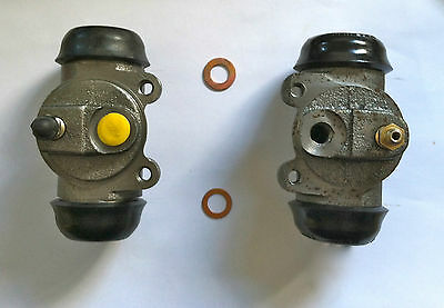 1933-1938 Plymouth Dodge DeSoto Chrysler Brake Wheel Cylinders, All 4 included!