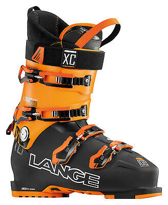 LANGE Skiboot XC 100 Scarpone Sci ALL MOUNTAIN Uomo 2016/2017 BLACK/OR. LBF8020
