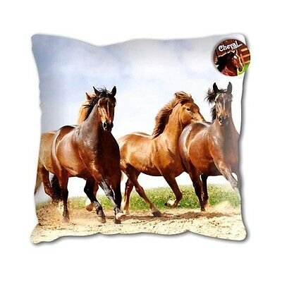 Coussin Chevaux passion