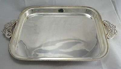 N°9472 Favoloso Vassoio Tray In Argento Sheffield Collection