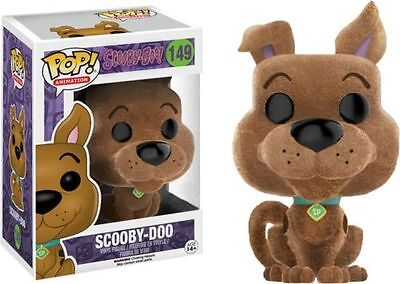 "Exclusive Flocked Scooby Doo 3.75"" Pop Vinyl Figure Brand New 149"