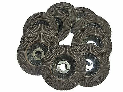 "18PC FLAP DISCS WHEELS 4"" 100mm 60 Grit MULTI PURPOSE NEW POWER TOOL ACCESSORIES"