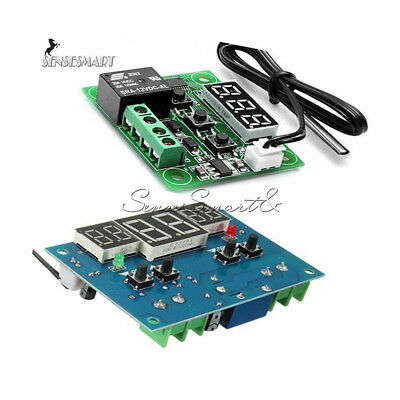 W1209/W1401 12V Digital Thermostat Temperature Controller Switch Sensor Module