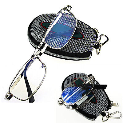 High Quality New Fold 1.0 1.5 2.0 2.5 3.0 3.5 4.0 Metal Frame Reading Glasses