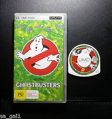 Ghostbusters (Sony PSP UMD Movie) PlayStation Portable - FREE POST