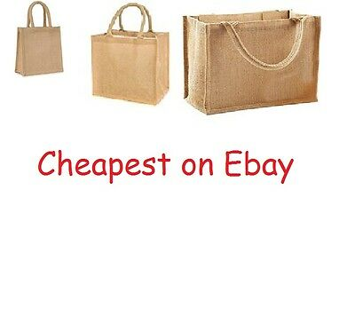 Wholesale Jute Hessian Small / Medium / Large Shopping Bags
