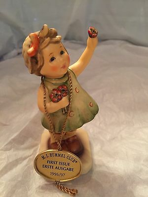 Goebel Hummel Figurine #793 TMK7 FOREVER YOURS First Issue Excellent Cond