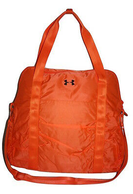 Under Armour Women's Gotta Have It Tote/Gym Bag Orange 1260270 800 nwt $70