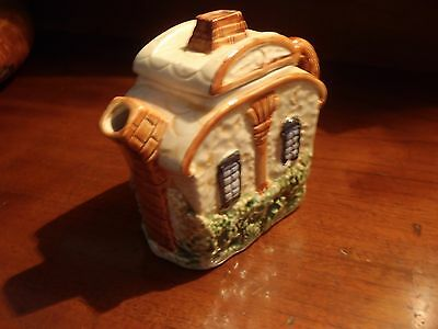 Vintage Character Tea Pot for 1 Cottage shape Japanese 1950s - very cute