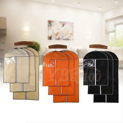 3 Colors 3 Sizes Breathable Suit Cover Hanging Garment Clothes Protector Bags