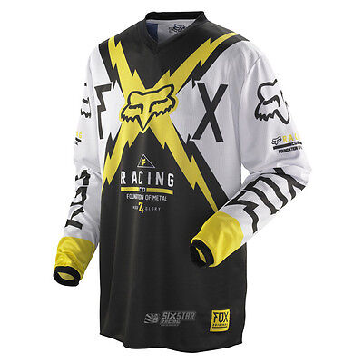 Fox Racing HC 180 Giant Suzuki Gelb Jersey Trikot Enduro Downhill Off-Road