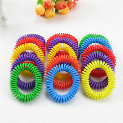 2~50X Anti Mosquito Bug Pest Repel Wrist Band Bracelet Insect Repellent Camping