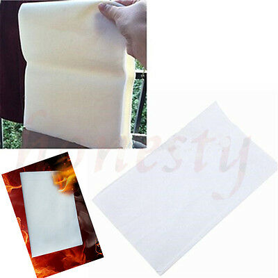 5/10Pcs White Magic Trick  Flash Paper Stage Adult Game Gift 25/50*20cm