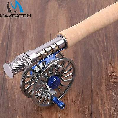Fly Rod and Reel Set Graphite IM10 Trout Fly Fishing Rod Aluminium Reel Rod Tube