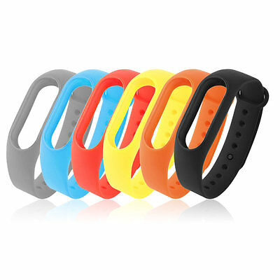 Replacement Wrist Strap Band TPU Wearable for Xiaomi for Miband 2 Bracelet SI