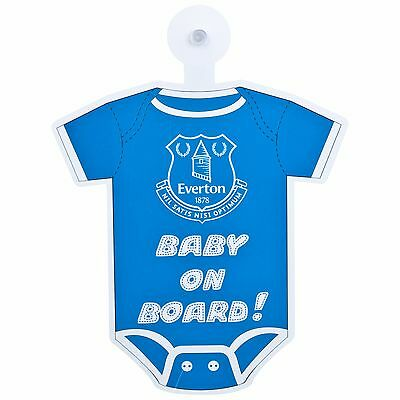 Everton Baby On Board Onesie EB8A