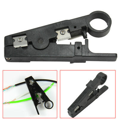 Rotary Cable Stripper Cutter Tool For STP Coaxial Wire Cable Twisted Pair