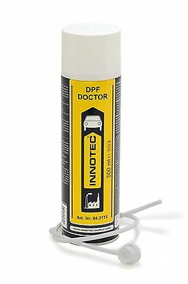 Innotec DPF Doctor/DPF Cleaner 500ml Cleaning Spray,Cleans Carbon & Soot in DPF