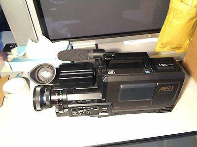 Vintage Panasonic Movie Camera NV-MS1B complete with case and accessorys