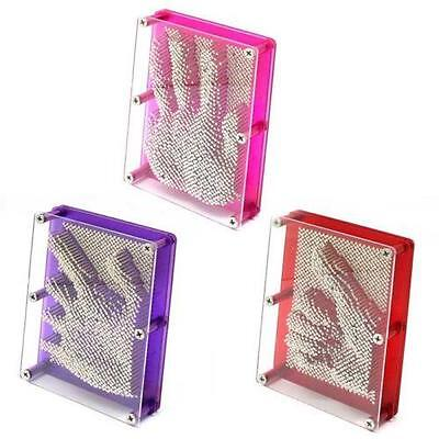3D Large Metal Pin Art Classic Impression Gadget Gift Picture Maker Toy Frame